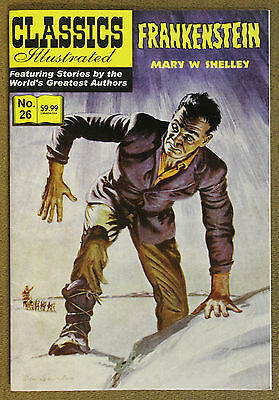 Classics Illustrated (2007 Jack Lake) #26 Frankenstein Mary W. Shelley