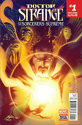 DOCTOR STRANGE SORCERERS SUPREME #1 NOW (MARVEL 2016 1st Print) COMIC