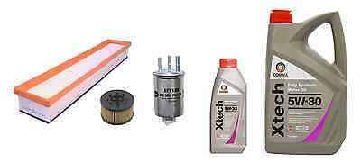 Oil Air Fuel FILTER Jaguar X Type 2.0 D 16v Diesel Service Kit + Engine OIL 6L