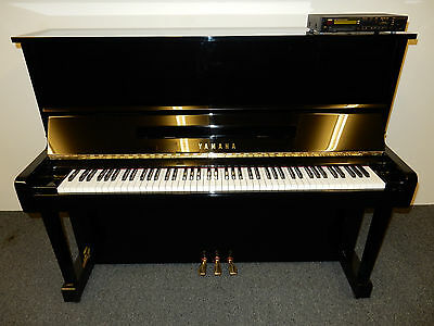 Yamaha U1 Silent Upright Disklavier Piano. 17 Years Old. 0% Finance Available