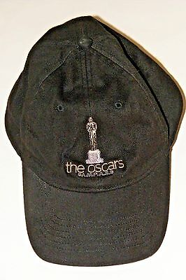 79th ACADEMY AWARDS CAP Official Crew Baseball HAT 2007 OSCARS Black AMPAS NEW!