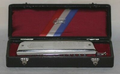 Huang Cadet 12 Three Chromatic Octaves Harmonica