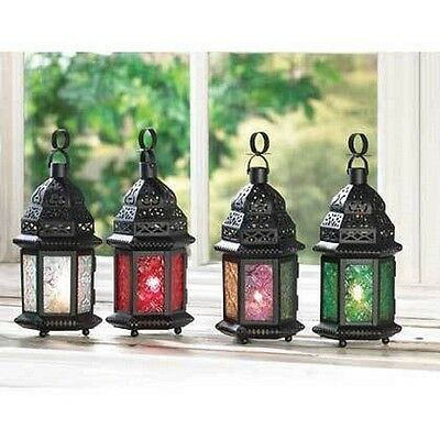Moroccan Candle Lanterns In Various Colors