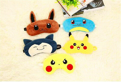 Cute Pokemon Soft Sleep Aid Mask Eye Shade Cover Aid Hot