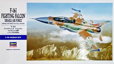 Hasegawa E34 F-16I FIGHTING FALCON ISRAELI 1/72 scale kit