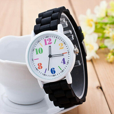 Fashion Sports Womens Wrist Watch Girls Motion Silicone Quartz Watches Wholesale