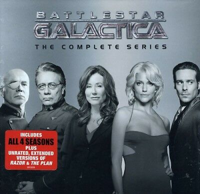 Battlestar Galactica: The Complete Series [New DVD] Boxed Set, Dolby, Slipslee