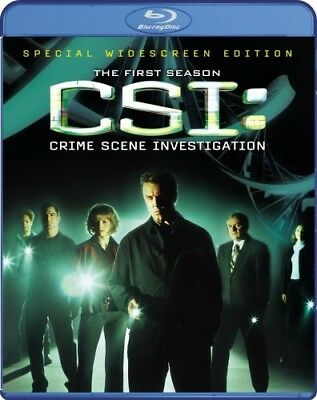 CSI: The Complete First Season [New Blu-ray] Ac-3/Dolby Digital, Dolby, Dubbed