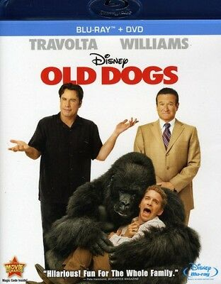 Old Dogs [New Blu-ray] With DVD, Widescreen, Ac-3/Dolby Digital, Dolby, Digita