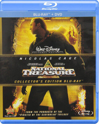 National Treasure [New Blu-ray] With DVD, Widescreen, Ac-3/Dolby Digital, Dolb