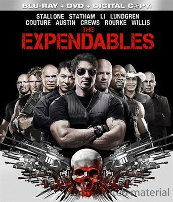 The Expendables [New Blu-ray] With DVD, Widescreen, Ac-3/Dolby Digital, Digita