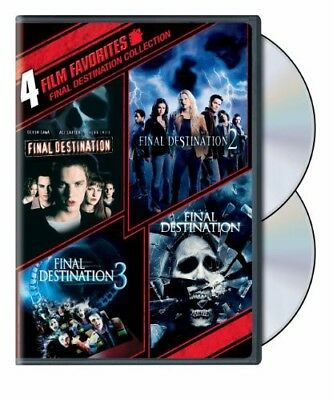 4 Film Favorites: Final Destination Collection [New DVD] Eco Amaray Case, Wide