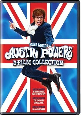 Austin Powers: 3 Film Collection [New DVD] Eco Amaray Case, Widescreen