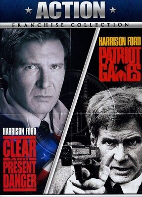 Clear and Present Danger / Patriot Games [New DVD] Ac-3/Dolby Digital, Dolby,