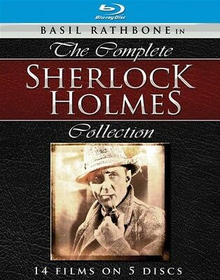 The Complete Sherlock Holmes Collection [New Blu-ray]