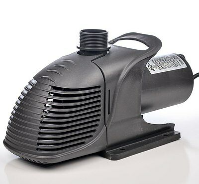 Pondmaster 20235 HY-Drive 7600 gph Pond/Waterfall Pump-motor-large water gardens