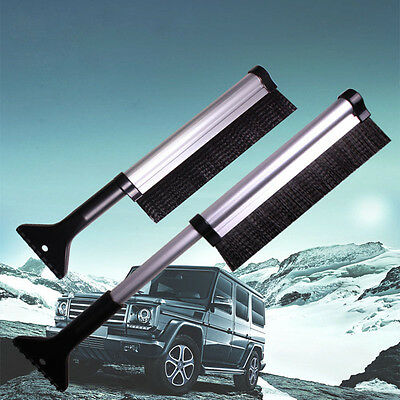New Extendable Car Ice Scraper Shovel Snow Brush Removal Clean Tool