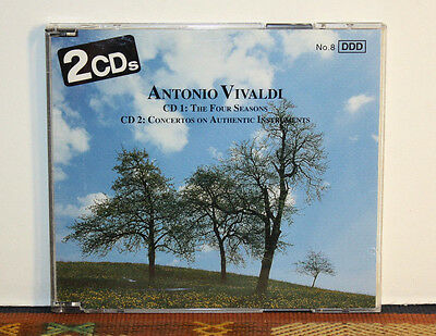 Vivaldi - Four Seasons (2 x CD Set, 1998) Made in Germany, Baroque, Classical
