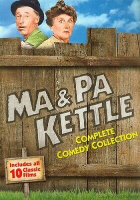 Ma & Pa Kettle: Complete Comedy Collection [New DVD] Slipsleeve Packaging