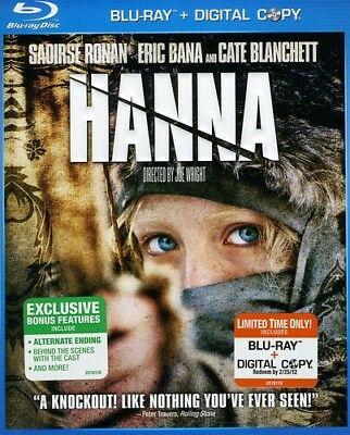 Hanna [New Blu-ray] Ac-3/Dolby Digital, Dolby, Digital Theater System, Dubbed,