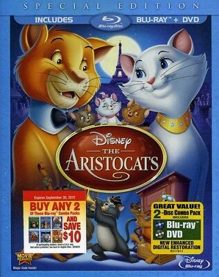 The Aristocats [New Blu-ray] With DVD, Special Edition, Widescreen