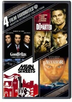 4 Film Favorites: Martin Scorsese Collection [New DVD] Boxed Set