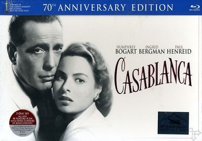 Casablanca (70th Anniversary Edition) [New Blu-ray] With Blu-Ray, With DVD, An