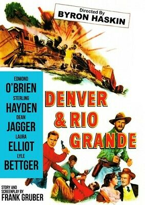 Denver and Rio Grande [New DVD] Colorized, Rmst