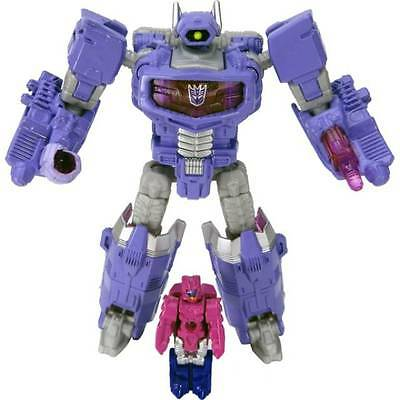 Takara Tomy Transformers Legends Lg-24 Shockwave & Cancer Nuovo New