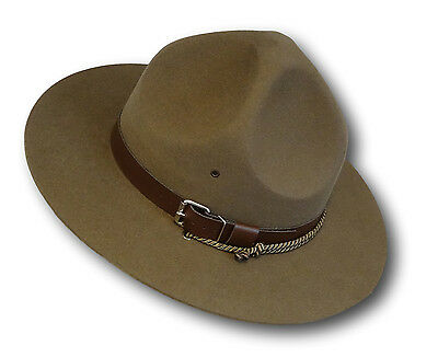Traditional Boy Scout Uniform Baden Powell Campaign 'Lemon Squeezer' Hat