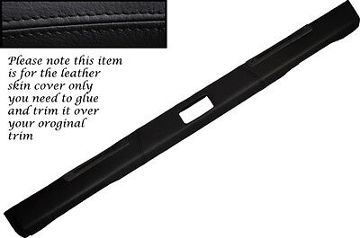 RED STITCH STEERING SHROUD LEATHER SKIN COVER FITS LAND ROVER DEFENDER 07-15