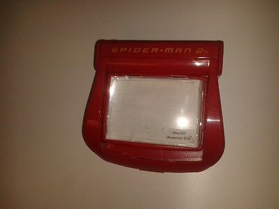 Nintendo GameBoy Advance MAGNIFIER CASE - RED - SPIDERMAN 2  * NEW RARE