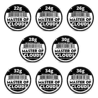 Mixed550 Feet of Kanthal A-1 Wire 22,24,26,28,30,32,34,36 Gauge