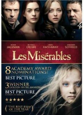 Les Miserables [New DVD] Dolby, Slipsleeve Packaging, Snap Case, Subtitled, Wi