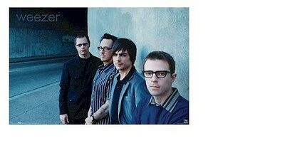 WEEZER ~ BLUE WALL ~ 24x36 MUSIC POSTER ~ Rivers Cuomo Wilson Bell Shriner