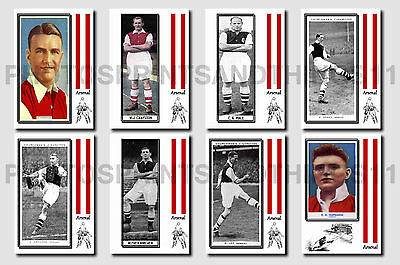 ARSENAL - CIGARETTE CARD HISTORY 1900-1939 - Collectable postcard set # 9