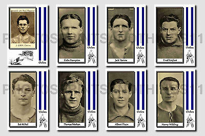 CHELSEA - CIGARETTE CARD HISTORY 1900-1939 - Collectable postcard set # 2