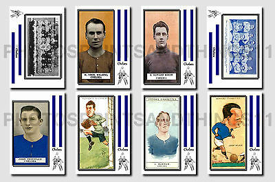 CHELSEA - CIGARETTE CARD HISTORY 1900-1939 - Collectable postcard set # 3