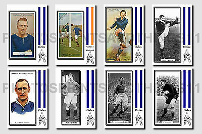 CHELSEA - CIGARETTE CARD HISTORY 1900-1939 - Collectable postcard set # 4