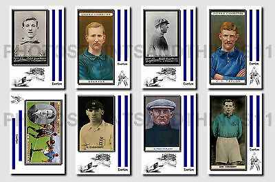 EVERTON - CIGARETTE CARD HISTORY 1900-1939 - Collectable postcard set # 1