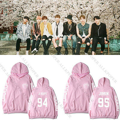 Kpop BTS In Bloom Cap Hoodie Sweater Bangtan Boys Jung Kook Sweatershirt Hoodie