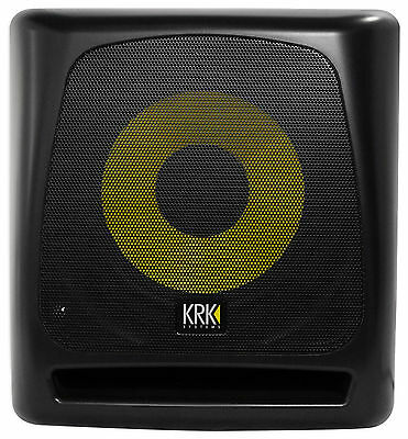 "KRK 10S v2 10"" 150w Powered Studio Subwoofer w/Class A-B Amp+Active Crossovers"