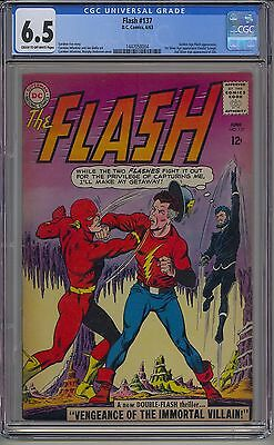Flash #137 Cgc 6.5 Off-White Pages Dc