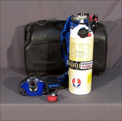 SurvivAir OMEGA Industrial SCBA with Carrying Case