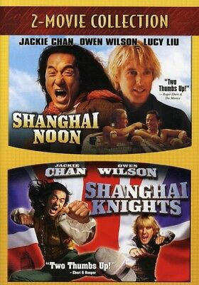 Shanghai Noon & Shanghai Knights [New DVD]