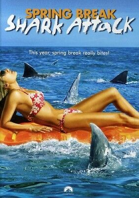 Spring Break Shark Attack [New DVD] Widescreen