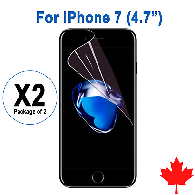"""2x Ultra Clear Screen Protector For iPhone 7 4.7"""""""