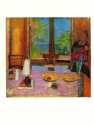 "1969 Vintage BONNARD /""THE VOYAGE/"" COLOR offset Lithograph"