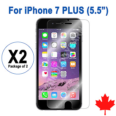 """2x Ultra Clear Screen Protector For iPhone 7 Plus 5.5"""""""