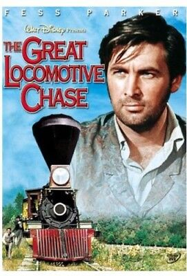 The Great Locomotive Chase [New DVD]